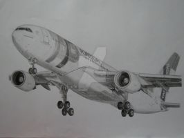 My Realistic Aircraft Drawing - TAP Portugal A330 by B737TheAirliner