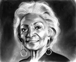 Nichelle Nichols by meilin-mao