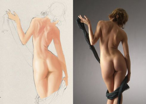 Painting practice 01 by maguinness