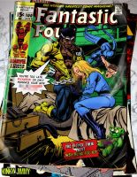 Fantastic Four Cover by KinkyJimmy