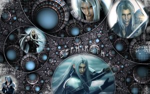 -- Sephiroth -- Blue by archonproject