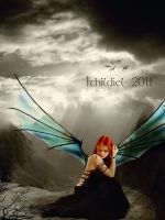 Bring herself to fly away... by Ithildiel