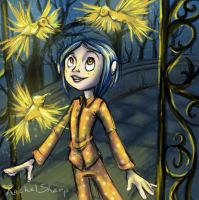 Hello Coraline by sharkie19