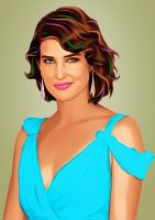 Cobie Smulders (Robin, 'How I Met Your Mother') by LilyMagpie