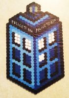 Perler Tardis - New Design by IAmArkain