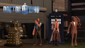 [SFM] Doctor Who / TF2 Crossover by MrGargo