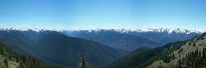 Valleys of Olympic National Park by pokemontrainerjay