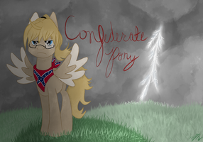 Request : Confederate Pony by AskPonyRomano
