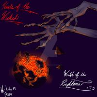 Hands of the Wicked, World of the Righteous by fronanc345