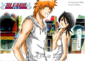 ichiruki: on a date by noodlemie