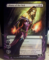 Frameless/Extended Liliana of the Veil by diemwing