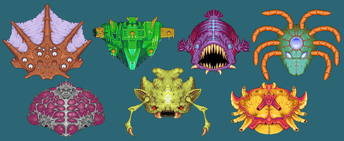 AquaNimle Bosses by oke27