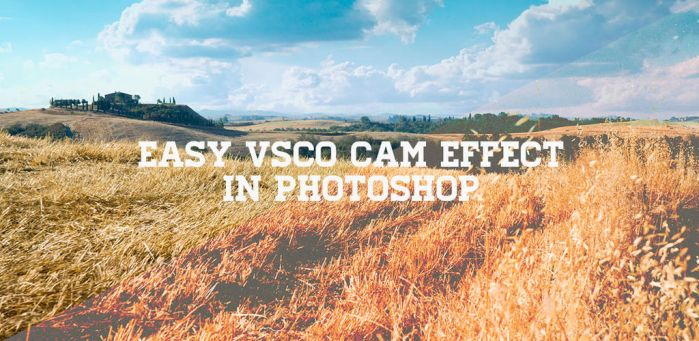 Easy VSCO Cam Effect in Photoshop by gomedia