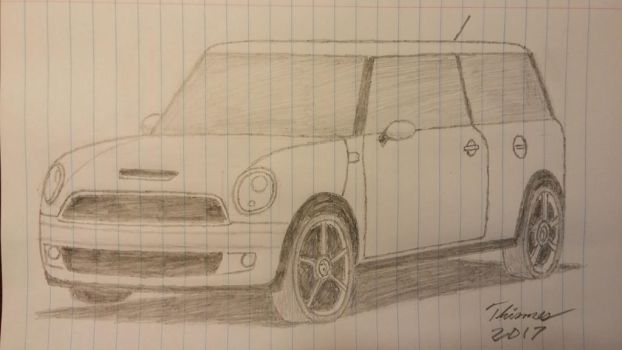2008 MINI Cooper Clubman by EThinnes