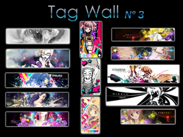 Tag wall 3 by Hachi-doll