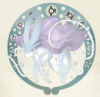 Suicune by Wakki