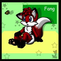Fang -Gift Art- by BabyChrisFox