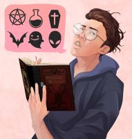 Paranormal Nerd by Decora-Chan