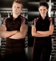 THG - Cato and Clove by LuckyFantasy4EVER
