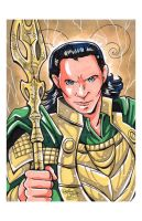 Convention Print - Loki by DaphneLage