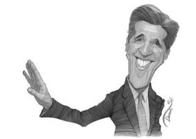 John Kerry sketch by StDamos