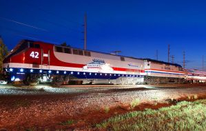 amtrak 42 and amtrak 406 on the capitol by wolvesone