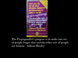 Huxley on Propaganda by Skargill