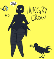 *Revamp* Hungry Crow Ref by HungryCrow