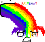 Rainbow BLERF by Kaji-Wolf