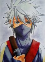Young Kakashi by Krystal89IT