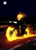Ghost Rider by HarryBuddhaPalm
