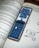 Tardis bookmark by GemDeDude