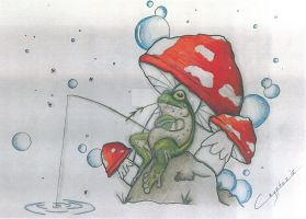 Frog by CrYpToZ