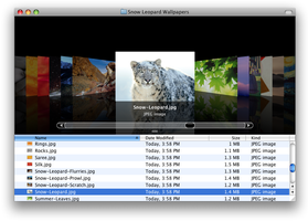 OS X Snow Leopard Wallpapers by taimurasad