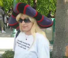 Frollo Hat Waiting for the tram by ChristineFrollophile