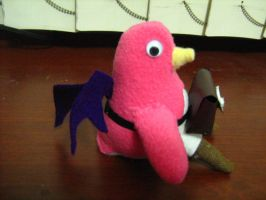 prinny sis plush by chaos-dark-lord