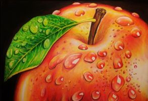 Autumn apple by NgaNguyen712