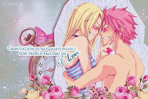 Gravitation and Love - Lucy x Natsu by Miinow-Chan