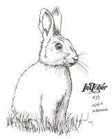 Inktober 2014 Drawing 13 by martianpictures