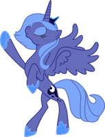 Princess Luna Vector by RisingMoonDragon