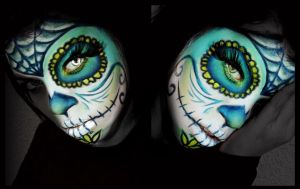 creative make up by ElizabethPetroumua