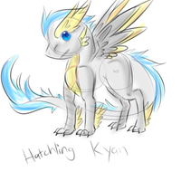 Kyan Hatchling Doodle by FeatheredSoap