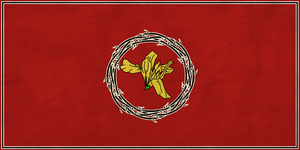 Kingdom of Jerusalem Flag by zalezsky