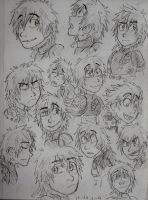 HTTYD 2 - Hiccup and a lot expressions by Hukkis
