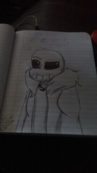 Sans redraw by Inkdrop10