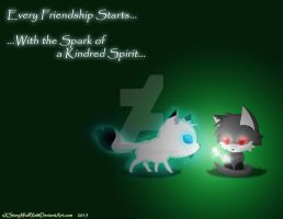 FuryShield Birthday gift 2015: Kindred Spark by xXStoryWolfXx