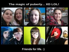The magic of puberty. XD Lmfao. by DeadBunnyKillMeSlow