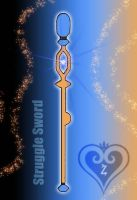 Keystaff - Struggle Sword - by WeapondesignerDawe