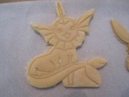 Vaporeon Cookie Dough Cut by B2Squared