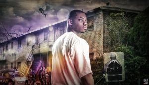 Lethal Coreleone: CD Cover Background Plate by MadSDesignz